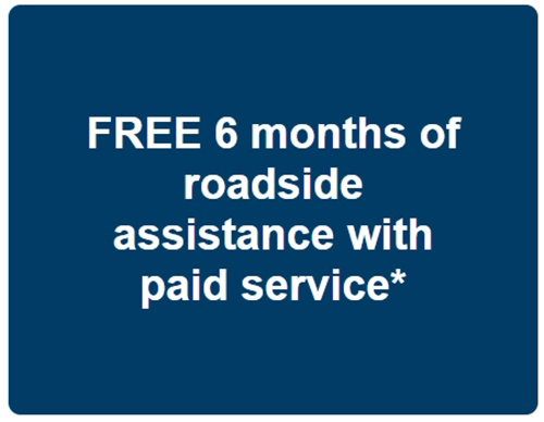 Easthill VW Free 6 months of roadside assistance with paid service*